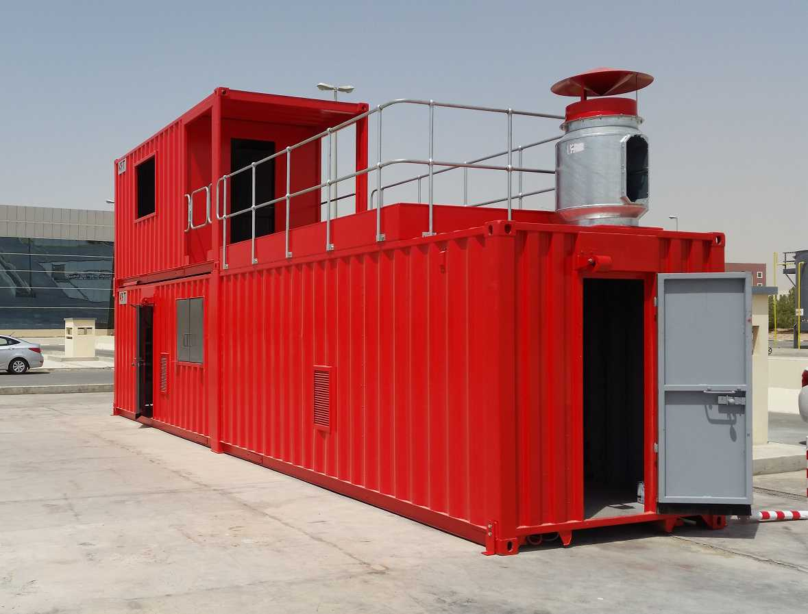 Dubai Civil Defence - Modular FireTrainer Unit