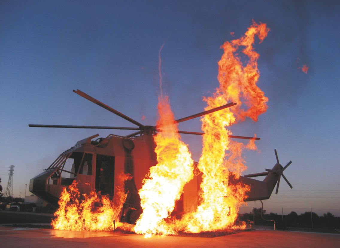 Sea Hawk - Helicopter Fire